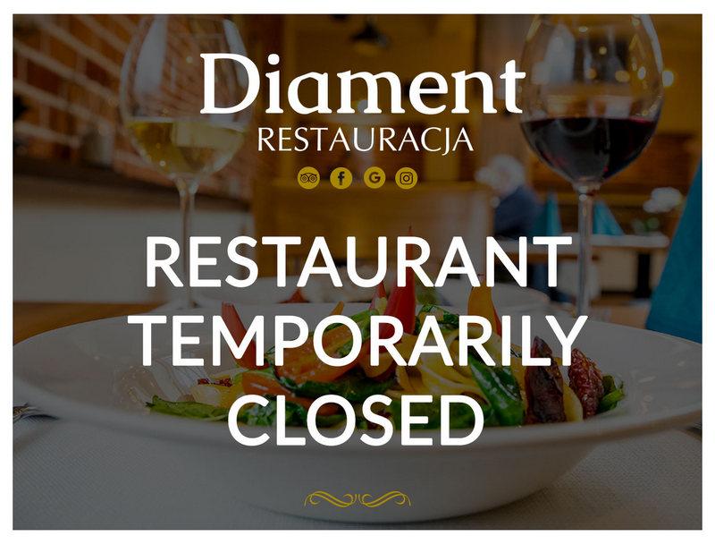 Restaurant temporary closed